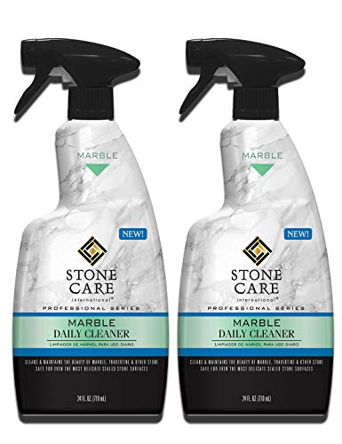 Stone Care International Marble Daily Cleaner - 24 Ounce (2 Pack) - Clean and Polish Your Marble Countertop Island and Stone Surface