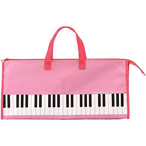 【送料込み価格】鍵盤ハーモニカ 32鍵盤用 ソフトケース ピンク (ピアニカ・ピアニー・メロディオン・メロディカ・メロディーピアノ) など