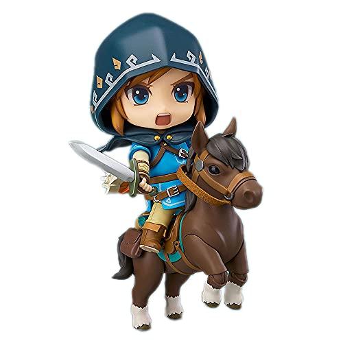 MOGCA Figuras De Anime The Legend of Zelda Breath of The Wild Link Edición De Lujo Nendoroid Figuras De Acción Juguetes Articulaciones Móviles Juego De Dibujos Animados Estatua Modelo Super Divertido