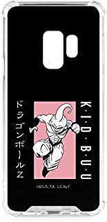 Skinit Clear Phone Case for Galaxy S9 - Officially Licensed Dragon Ball Z Kid Buu Combat Design