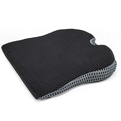 ZYM Coccyx Seat Cushion, Orthopedic Memory Foam Chair Pad Reduce The Pressure on The Tailbone Back for Car Office Home Wheelchair,C