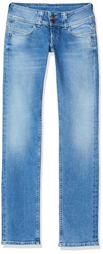Pepe Jeans Damen Venus Jeans, Blau (Medium Used 000), One Size (Herstellergröße: W25/L34)