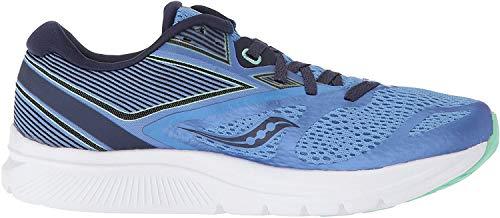 Saucony Women's Kinvara 9 Running Shoe, Blue/Teal, 8.5 Medium US