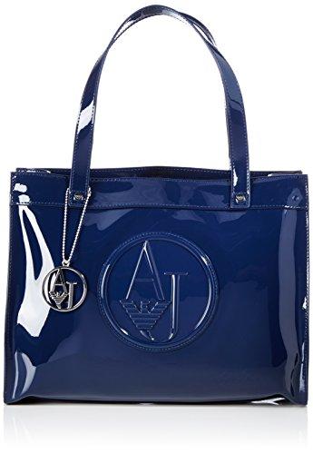 Armani Jeans 0520BRJ 0520BRJ Damen Shopper 35x27x12 cm (B x H x T), Blau (BLU - BLUE 50)