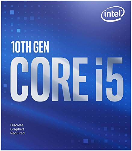 Intel Core i5-10400F (Basistakt: 2,90GHz; Sockel: LGA1200; 65Watt) Box