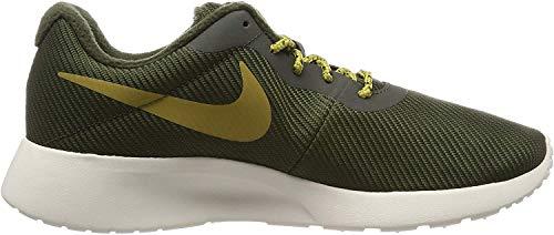 Nike Herren Tanjun Se Laufschuhe, Mehrfarbig (Sequoia/Golden Moss-Volt-Light Bone 300), 47 EU