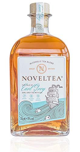 NOVELTEA - Alkoholischer Tee - Die Höhle der Löwen - Earl Grey Tee mit Gin - 700 ml, 11%
