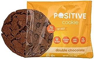 Gluten Free Kosher Vegan Protein Cookies (4 Cookies) (Double Chocolate, 4 Cookies)