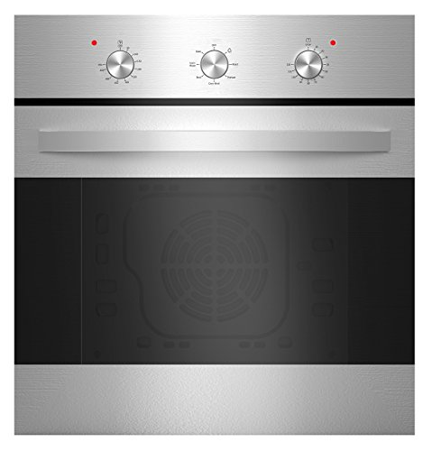 Empava 6 Cooking Functions Mechanical Knobs Control in Stainless Steel EMPV-24WOB14, 24 Inch