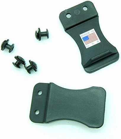 Quick Clip Pro Award Kydex Leather Gun Clips Holster trend rank Belts 1.5