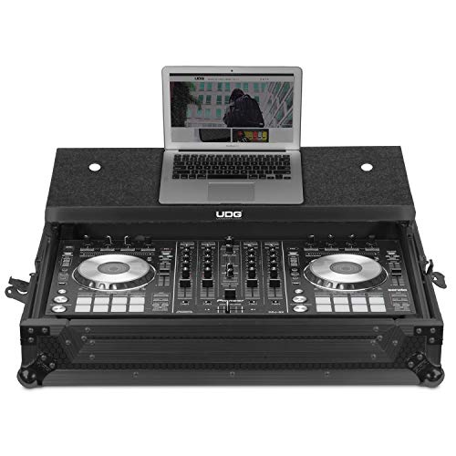 UDG Ultimate Flight Case Pioneer DDJ-SX3Black MK2 Plus (estante para...
