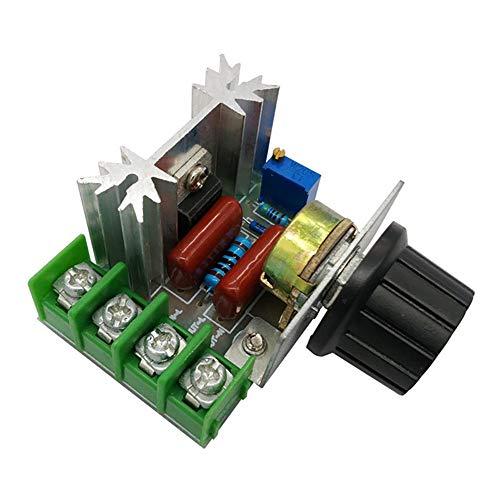 JCMY Herramientas de Bricolaje AC 220V 2000W SCR regulador de Voltaje de atenuación atenuadores termostato regulador de la Velocidad para la decoración del hogar.