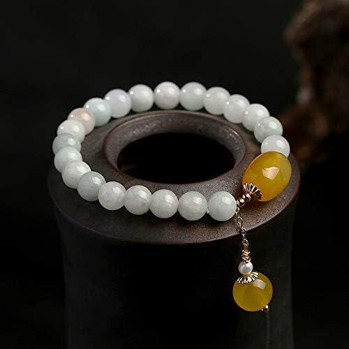 Raindrop Nippon regular agency 100% Natural Jade Brand new Beads Bracelet Bangle Women for Jewel