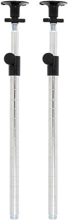 ルミナス ポール径25mm用パーツ ポール(支柱) 延長用テンション(つっぱり)ポール 93cm~165cm(2本セット) 高さ93~165cm ADD-P2590J