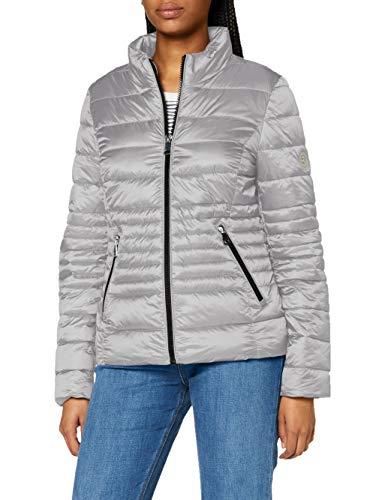 GERRY WEBER Edition Womens Outdoorjacke Nicht Wolle Jacket, Silber, 46