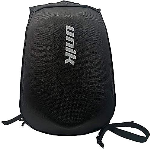 Mochila para moto  ciclismo  esquí  camping  desplazamientos. Acabado textil duro negro