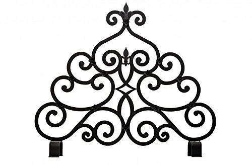 Find Bargain Meyda Tiffany 162817 Transitional Fireplace Screen from Fleur-De-Lis Collection in Bron...