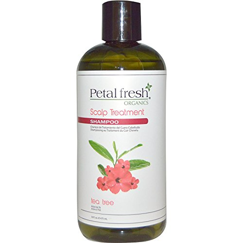 Bio Creative Lab Petal Fresh Organic Shampoo, Tea Tree, 16 Fluid Ounce by Bio Creative Lab