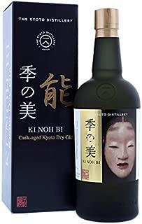 京都蒸留所 ドライジン 季の美 能 ウイスキーカスク熟成