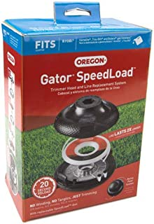 Oregon Gator SpeedLoad Trimmer Head and Line Replacement System 0.095