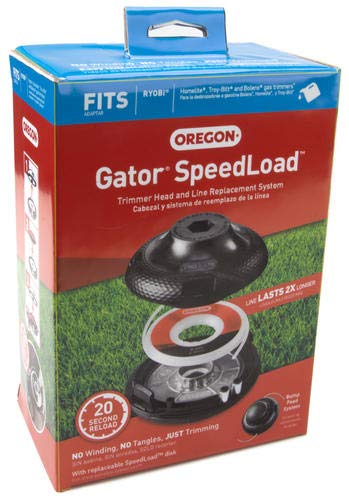 Oregon Gator SpeedLoad Trimmer Head and Line Replacement System 0.095'/2.4mm 24-200-W