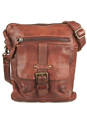 Bull & Hunt 34-URBAN-MESSENGER-SMALL-BUR. - Damen Taschen | Umhängetasche | Schultertasche | Handtasche - 9016-cognac