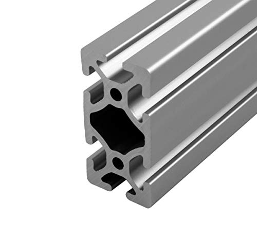 Faztek - 15QE1530-48 15QE1530 Aluminum 6063-16 T-Slotted Heavy Extrusion with Clear Anodize Finish, 48' Length x 1-1/2' Width x 3' Height