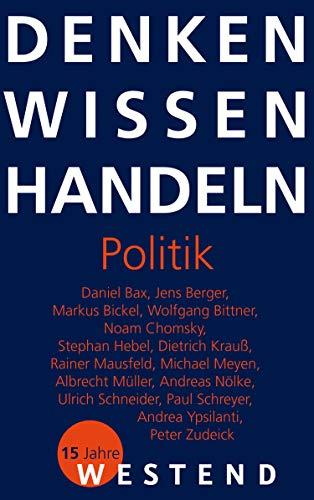 Denken Wissen Handeln Politik