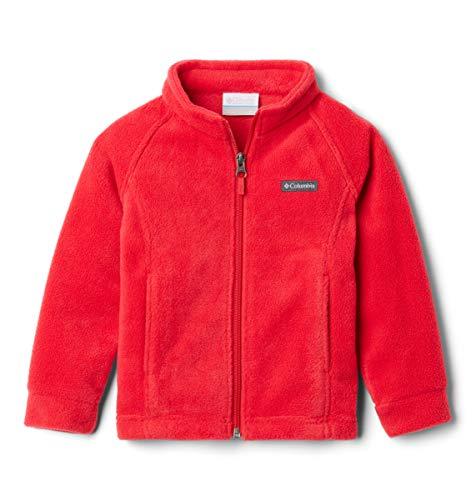 Columbia Unisex-Baby Benton Springs Fleece Fleecejacke, Rote Lilie, 12-18 Monate