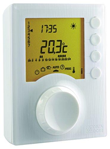 Delta Dore 127 - Termostato Programable Radio Calefacción Tybox