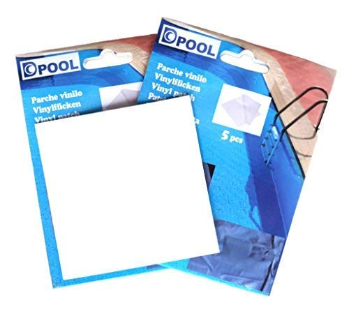 well2wellness® Poolfolie Vinyl Flicken Pool-Flicken - 5 Stück (023892)
