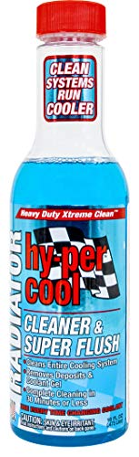 Hy-Per Lube HFL400 Hy-per Cool Radiator Cleaner & Super Flush - 16 oz.