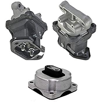K2533 ONNURI For 2005-2010 Chrysler 300 2.7L// 3.5L RWD EM5587 EM5588 Motor /& Transmission Mount : EM5588