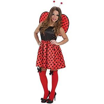 Creaciones Llopis - Disfraz de mariquita graciosa para adulto ...