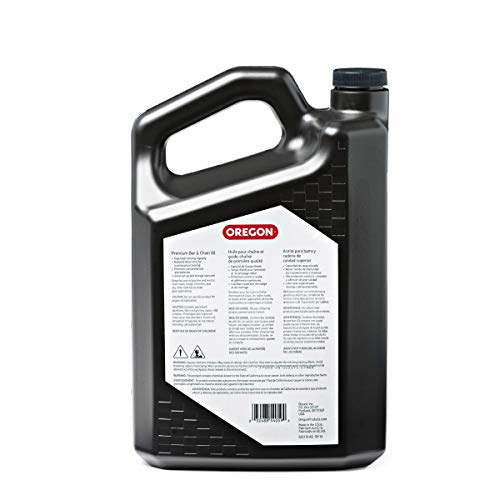 Oregon 54-059 Bar and Chain Lube, Black, 1 Gallon