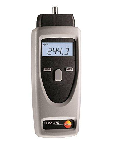 Testo 470 Drehzahl-Messgerät, 0563 0470