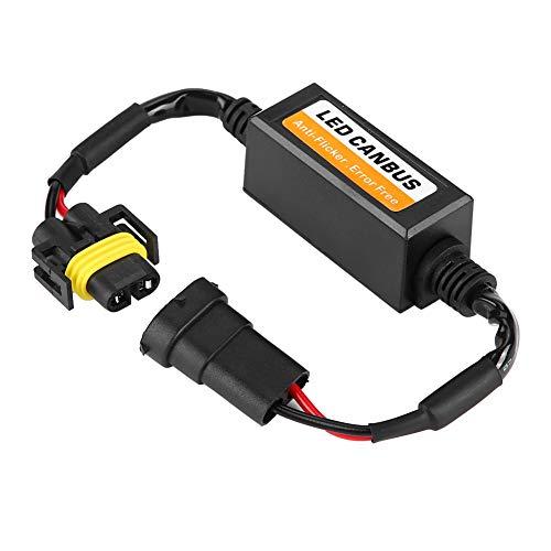 Dibiao LED Koplamp Decoder, LED Koplamp Mist Lamp Anti-Flicker Flash Fout Canceler,Decoder voor H8/H9/H11 C12