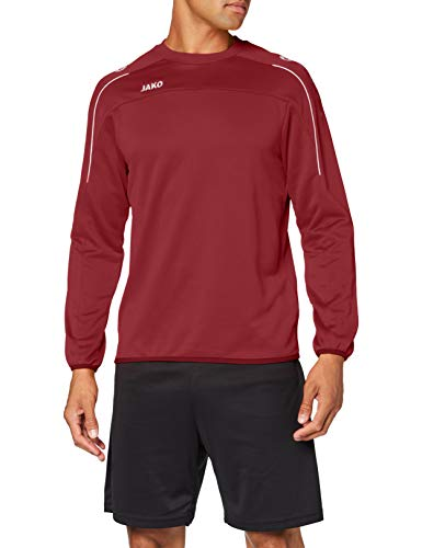JAKO Classico - Camiseta de Entrenamiento para Hombre (Talla L), Color marrón
