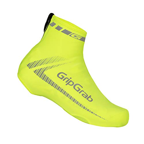 GripGrab Überschuhe RaceAero, Gelb Hi-Vis, OneSize (38-46)
