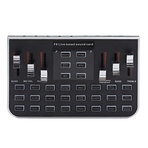 Tihebeyan geluidskaart, audiomixer, externe USB-microfoon, laptop, geluidskaart van Karaoke in live
