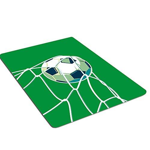 Hsrg Tapis Rugs Football Motif antidérapant Souple Confortable Tapis de Table Basse Couverture de Chevet Chambre d'enfant Tapis de Jeu Ramper Tapis, 2,165 × 220 cm
