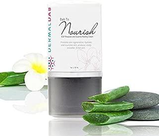 Quickly Heal Rosacea, Eczema, Dry, Cracked Skin! Prescription Strength Healing Cream! W EGF, Shea Butter, Aloe, Cucumber, Vitamins. Soothe, Nourish & Heal Cream! Dab to Nourish (1oz)