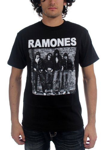 Ramones - - Hommes 1er album de courtes T-shirt à manches In Black, Small, Black