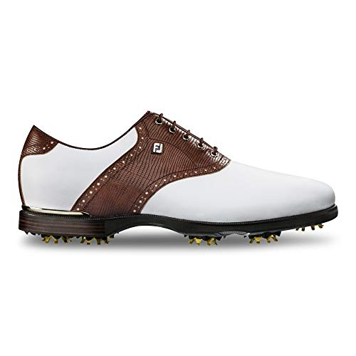 FootJoy Men's ICON Black Golf Shoes,...