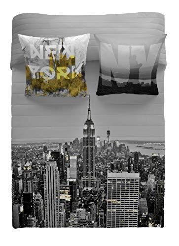 NATURALS Bouti Tagesdecke NY Gold Bett 90...