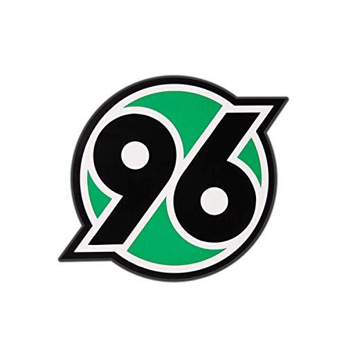 Hannover 96 Aufkleber - Logo - farbig Ø 6 cm Sticker, Autoaufkleber H96 - Plus Lesezeichen I Love Hannover