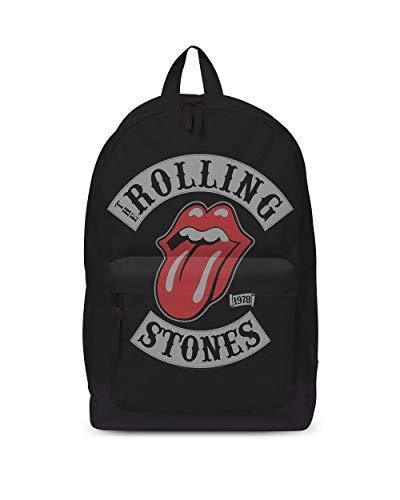 Rolling Stones Stones 1978 Tour Classic Rucksack, Medium, Black [Vinyl LP]