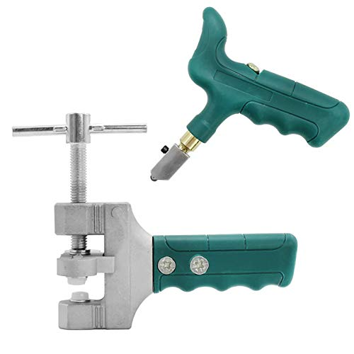 Kit di utensili manuale per taglierina di vetro, strumento per tagliare le mattonelle a mano, per vetro e piastrelle, kit fai da te per la casa multifunzione
