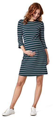 Queen Mum Robe de maternité en tricot. - Bleu - 40