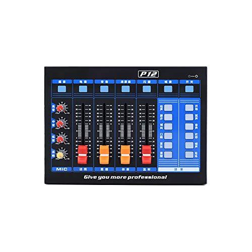 MMFXUE Live-Soundkarte, multifunktionale Live-Soundkarte, Dual-DSP-Rauschunterdrückung Chip, für Telefon-Computerspiel iPad Broadcast Streaming Karaoke-Aufzeichnung